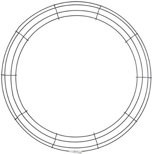Panacea Drahtkranz, Rahmen, 51 cm, andere, Mehrfarbig