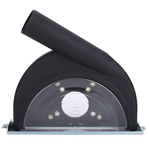 Zimmerarbeiten Holzverarbeitung Schleifen Abdeckung Q-180 Cutting Hood und Kunststoff Retractable Vakuumrohr Winkelschleifer Zubehör
