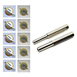 YXZHENG 5PCS CR1616 5PCS CR2025 Save Game Batteries Tabs for Gameboy Gameboy Advance Gameboy Color Nintendo NES Super Nintendo Sega Genesis with 3.8mm & 4.5mm Security Screw Bits (5XCR1616+5XCR2025)