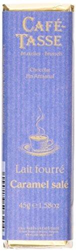 Photo of Cafe Tasse Milk Chocolate Bar with Salt Caramel 45 g (Pack of 5)