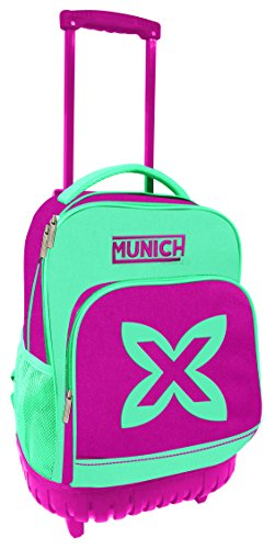 Munich Colors Maleta, 46 cm, 19 Litros, Azul