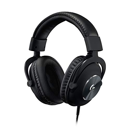 Logitech G PRO Gaming Headset for Oculus Quest 2 - Oculus Ready - Custom-length Cable - PRO-G Precision Gaming Audio Driver - Steel and Aluminum Build - Low-Latency 3.5 mm Aux Connection