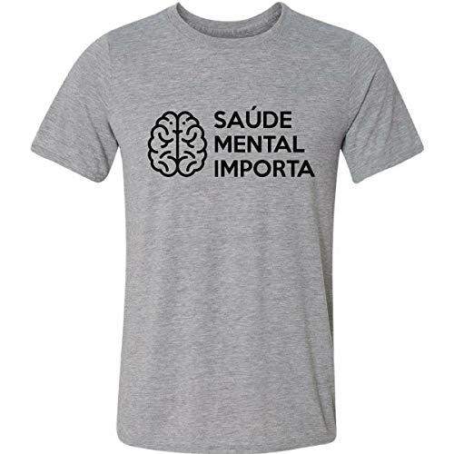 Camiseta Saúde Mental Importa Depressão Ansiedade