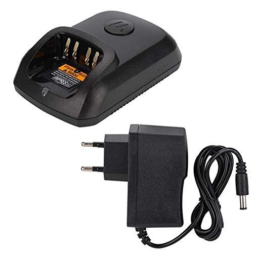 FOLOSAFENAR Chargeur Radio bidirectionnel Facile à Transporter Adaptateur de Talkie-walkie Compact Pratique, pour Dep550, pour Dep570, pour Dp2000