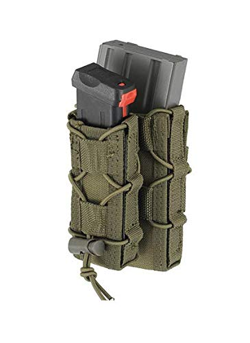 8FIELDS MOLLE Combo Rifle/Pistol Mag Speed Pouch Quick Magazin Tasche Double Mag