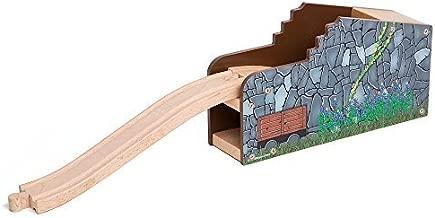 Orbrium Secret Mine Tunnel Wooden Compatible with Major Wooden Railway Systems includingThomas Brio Chuggington Melissa & Doug Imaginarium Set Toys