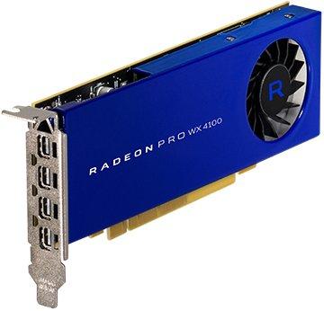 Price comparison product image amd technologies inc 100-506008 - Radeon Pro WX4100 - Graphics card - Radeon Pro WX 4100 - 4 GB GDDR5 - PCIe 3.0 x16 - 4 x Mini DisplayPort