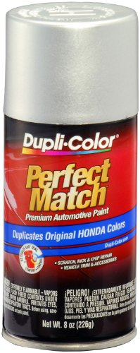 Dupli-Color EBHA09107 Arctic Silver Metallic Honda Perfect Match Automotive Paint - 8 oz. Aerosol