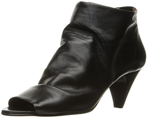Hudson London Damen Goa Peep-Toe, Schwarz