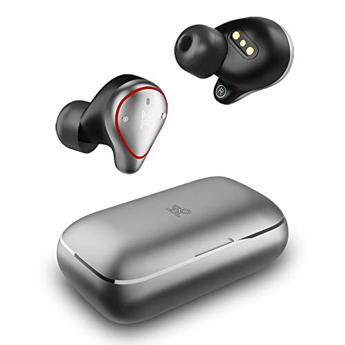 2021 Upgraded Version True Wireless Earbuds Mifo O5 Plus TWS Bluetooth 5.0 Sport Wireless Headphones Hi-Fi Stereo Sound IPX7 Waterproof Wireless Earbuds with 2600mAh Charging Case as Power Bank