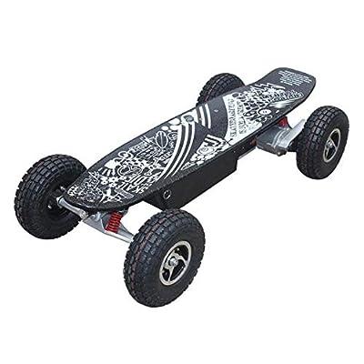 WYN Self Smart Balance Electric Scooter Hoverboard Motorized Skateboard Standing Board Adult Balancing Scooter,Black