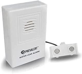 Basement Water Alarm. Prevalert Water Leak Detector FULL Lifetime 100% Satisfaction Guarantee! 9v Battery Included (3yr Life) Prevent Costly Water Damage to Kitchen Bathroom & Basement. Similar to Basement Watchdog & BONUS Low Battery Alarm!