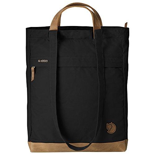 Fjällräven Tasche Totepack No.2, 24229-550, schwarz (Black), 14 x 33 x 42 cm, 16 liters, One Size
