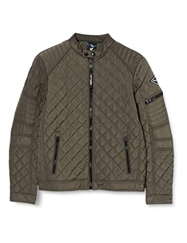 Replay Herren M8084 .000.83840 Jacke, 393 Wood Grey, L