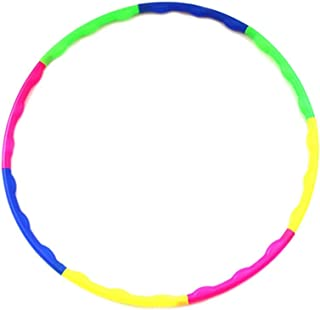 Kids Hula Hoop for fun, dance, fitness and exercise - portable fitness ring in beautiful colours for Gymnastics, Dance