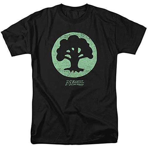 Magic The Gathering Green Symbol Unisex Adult T Shirt for Men and Women, X-Large