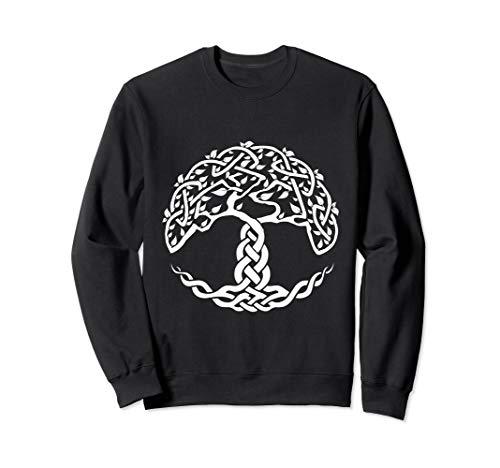 Celtic Symbol Tree of Life Family Wisdom Rebirth Irish Sweatshirt
