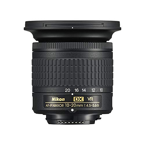 Nikon AF-P DX 10-20 mm f/4.5-5.6G VR Obiettivo, Nero [Versione...