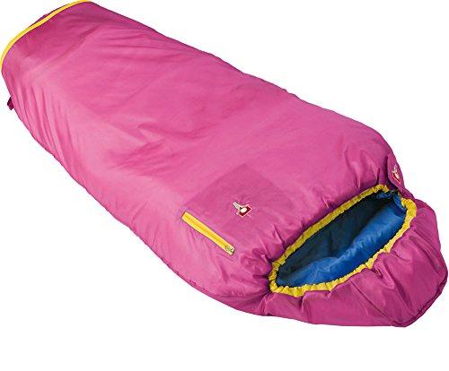 Grüezi+Bag Kinder Mitwachsender Kinderschlafsack Kids Grow Colorful, Rose, 35 x 18 x 18 cm