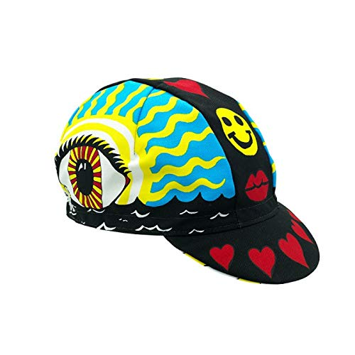 Cinelli Unisex Eye of the Storm Cap, Rider Collection, One Size