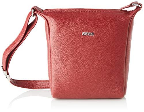 BREE Damen Nola 1 Schultertasche, Rot (Dark Red), 6x20x18 cm