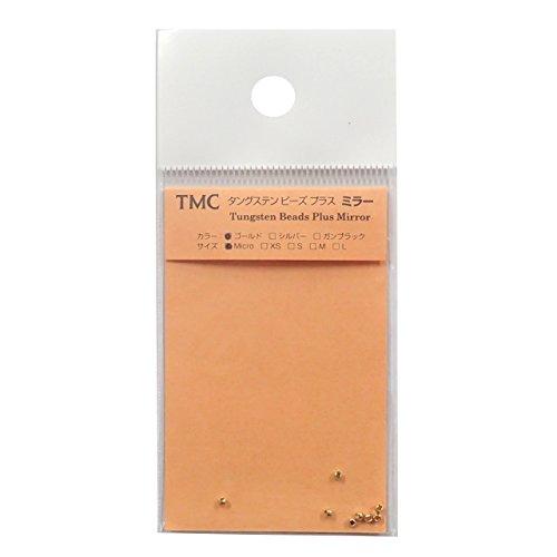 ティムコ(TIEMCO) フライマテリアル TMCタングステンビーズプラス ミラー XS 2.5mm ゴールド