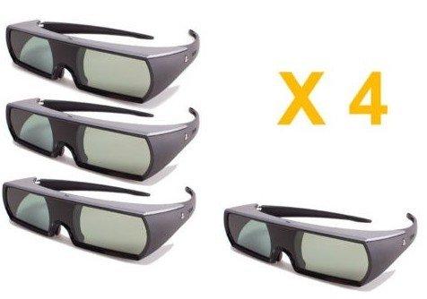 PlayStation 3 3D Glasses (Super Value 4 Pack)