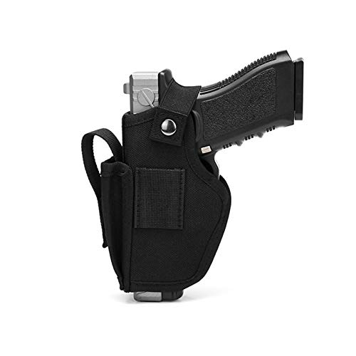 N  A Gun Holsters for Men/Women, Holster for Pistols, Universal Airsoft Right/Left, IWB/OWB Holsters for Concealed Carry - Fits M&P Shield 9mm, Similar Handgun, Black