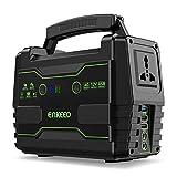 ENKEEO - Generador Portátil 155Wh con 6 Puertos (QC3.0/USB/AC/DC), Pantalla LED,...