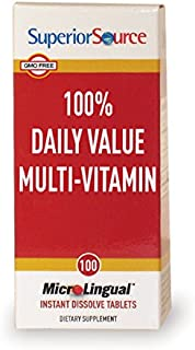 multivitamin with only 100 daily value
