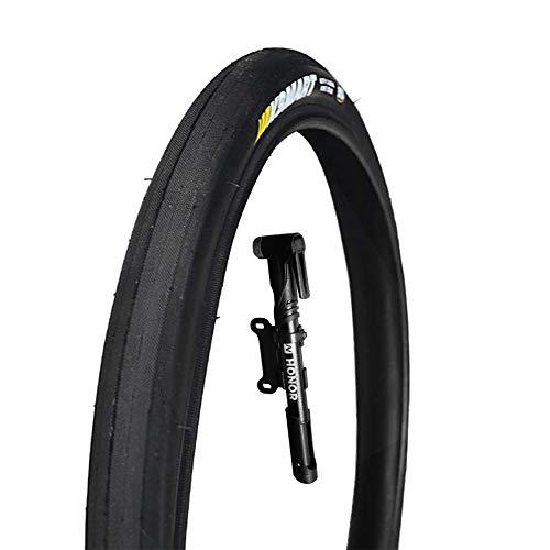 DUXIUYING 16.135 neumáticos de Bicicleta de montaña 1 Pieza, neumático de Alambre de Cuentas de Bicicleta MTB para montaña con Bomba de Bicicleta de 9.8 Pulgadas para Elegir,B with Bike Pump