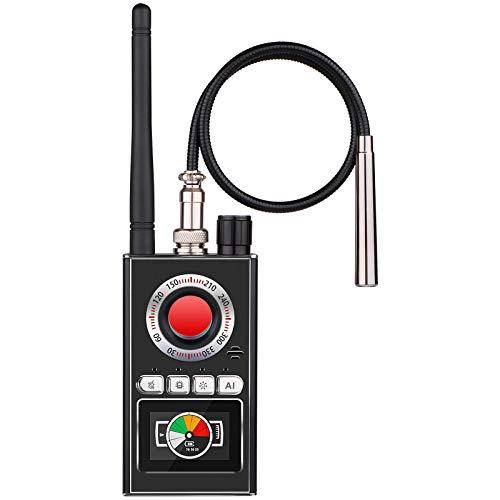 Detector antiespía Cámara Oculta Detector de Errores Detector GPS para Dispositivo de Seguimiento gsm Señal RF Rastreador GPS inalámbrico Buscador de Dispositivos de Escucha con función AI
