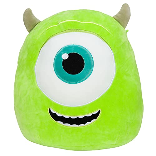Squishmallow Official Kellytoy Plush 14' Pixar Mike Wazowski - Disney Ultrasoft Stuffed Animal Plush Toy