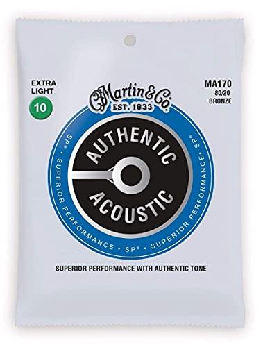 Martin Western-Gitarren Saiten Martin MA-170 Extra light .010-.047