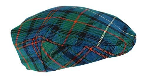 House of Edgar - Gorra plana de lana de tartán escocés para invierno, 100% regimiento, diseño de Westminster