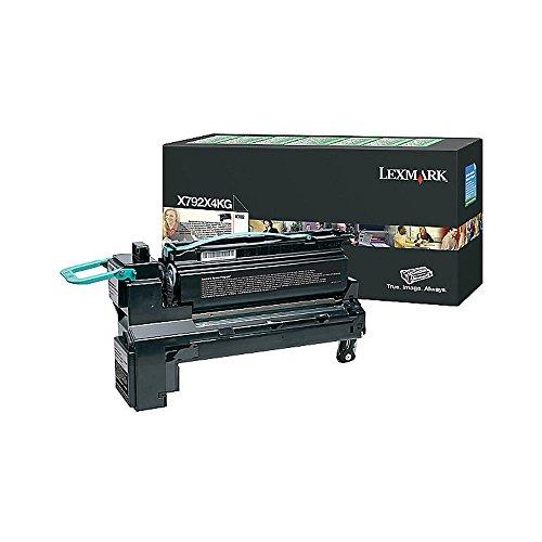 Lexmark Extra High Yield Black Return Program Toner Cartridge for US Government, 20000 Yield (X792X4KG)
