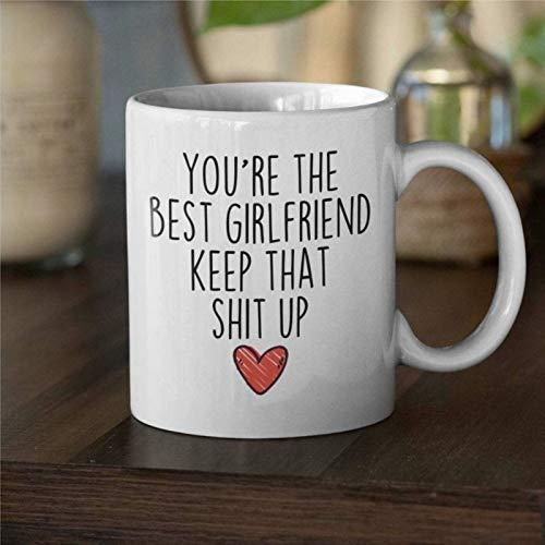 Regalo para novias o novias regalos divertido regalo novia novia taza de café taza novia novia idea regalo mejor aniversario taza taza de café de cerámica divertida bj177
