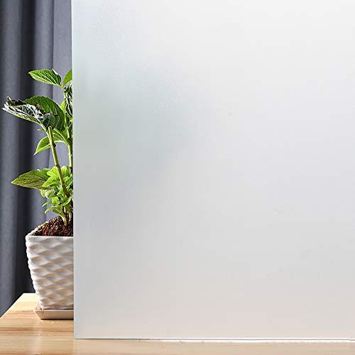 Mat privacy raamfolie UV-blokkering afneembare glazen glazen voor thuis badkamer kantoor statische kling ondoorzichtig deursticker 40x200cm(16x79inch) A