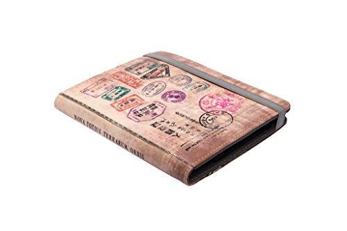 Silver HT - Funda para eReader Libro electrónico eBook de 6 Pulgadas Compatible con Kindle, BQ, Sony, Woxter, SPC, Travel (111937140199)