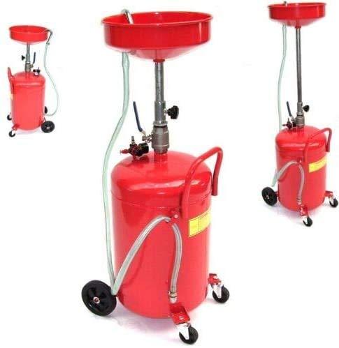 D+L Ölauffanggerät Ölablassgerät 07081 Ölauffangwagen 68 ltr Altöl Ölauffangbehälter AWZ