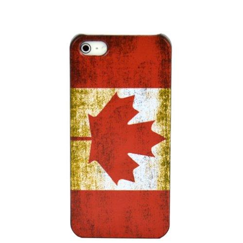 Carcasa para iPhone 5, diseño de bandera de Canadá
