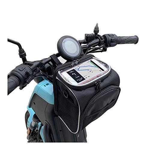 puissant AGLZWY sacoche de guidon vélo, sacoche vélo avec crochet réglable, sacoche vélo, trottoir…