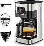 Programmable Coffee Maker, 10 Cup Drip Coffee Maker...