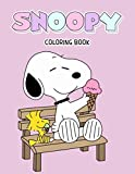 Snoopy Coloring Book: Funny Snoopy Coloring book for Kids and Fans of All Ages. 50+ GIANT Great Pages with Premium Quality Images