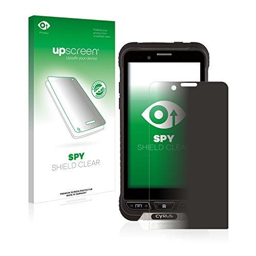 upscreen Anti-Spy Blickschutzfolie kompatibel mit Cyrus CS35 Privacy Screen Sichtschutz Bildschirmschutz-Folie