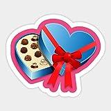BLOUR 1 Uds Chocolates Comida Amor Rojo Pegatinas de Papel de Dibujos AnimadosJuguetes para niños Libro Pegatina DecorativaCoche Guitarra Pegatinas para Nevera