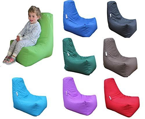 HH Home Hut Kids Bean Bag Chair Gaming Chair Beanbag Indoor & Outdoor Garden Big Arm Chair (Blue)