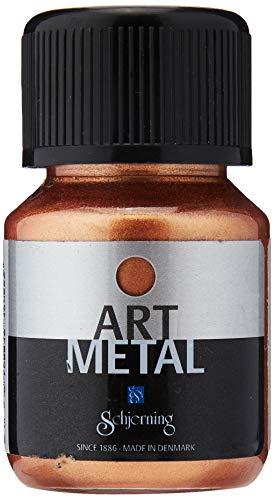 Creativ Company Art Metal - Flacone di vernice metallizzata, color rame, 30 ml