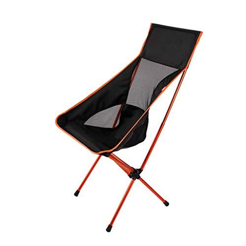 zyy Outdoor vouwstoel, opvouwbare lichtgewicht draagbare rugzak stoelen met tas voor kajakken vissen wandelen picknick strand concerten outdoor activiteiten