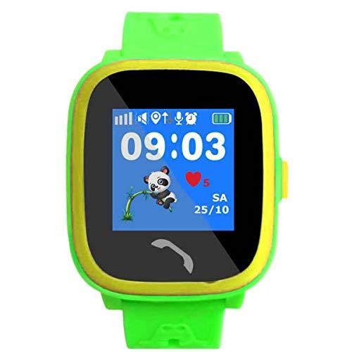 VIDIMENSIO GPS Telefon Uhr Kleiner Delfin - blau (Wifi) WASSERDICHT, OHNE Abhörfunktion, für Kinder, SOS